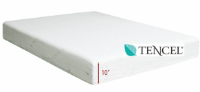 competitive price 9915b 7f091 Serene Firm Tencel Memory Foam Mattresses - All American ...